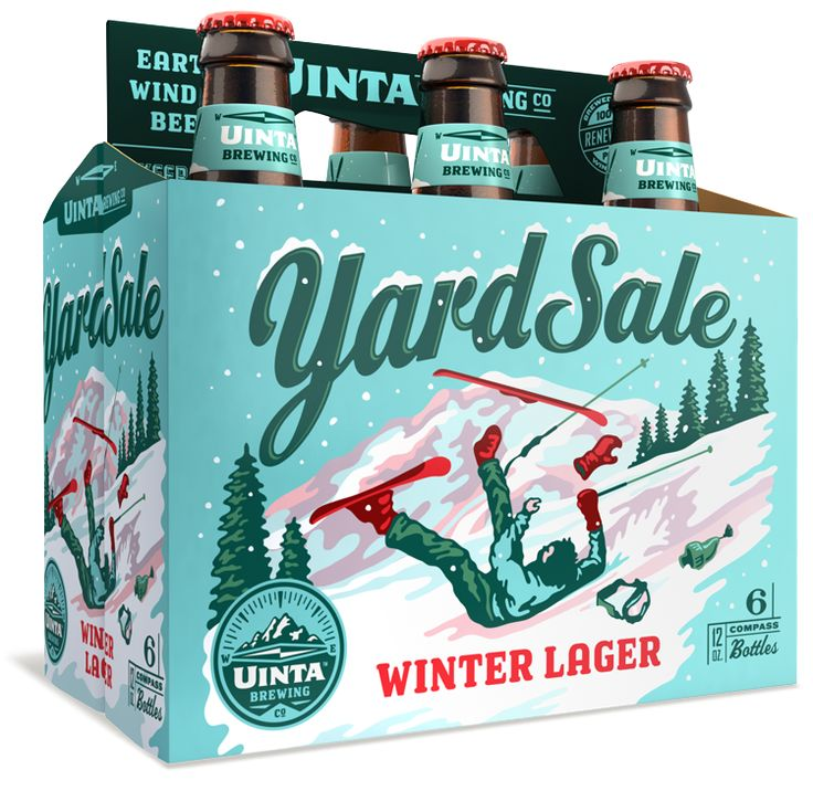 yard sale winter lager, beers for the ski slopes