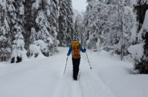 winter hikes in utah