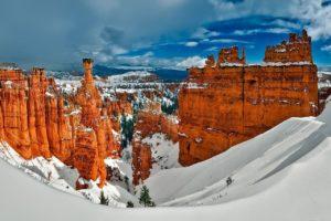 bryce canyon winter hikes utah