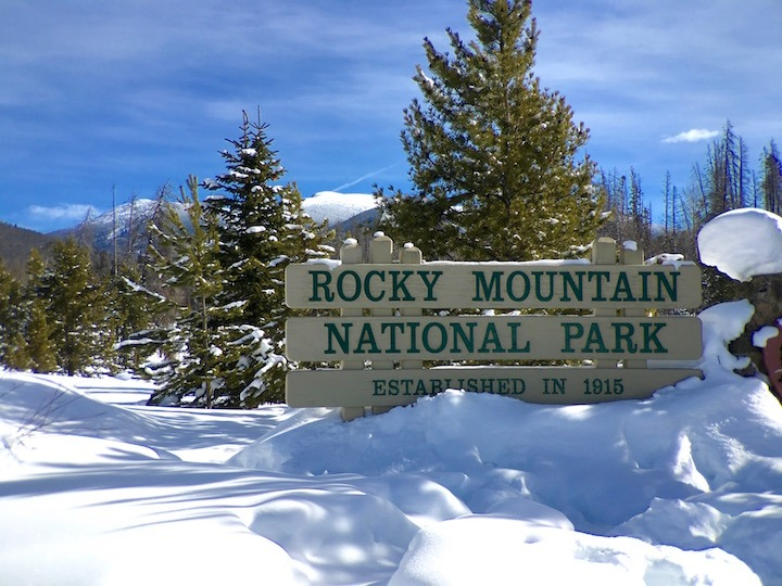 rocky mountain national park in grand county colorado