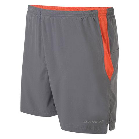 Dare 2B Undulate Men's Shorts in gray/orange