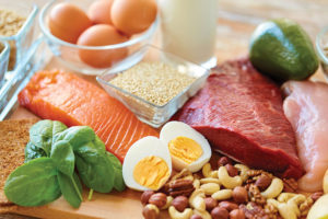 assorted food for keto diet