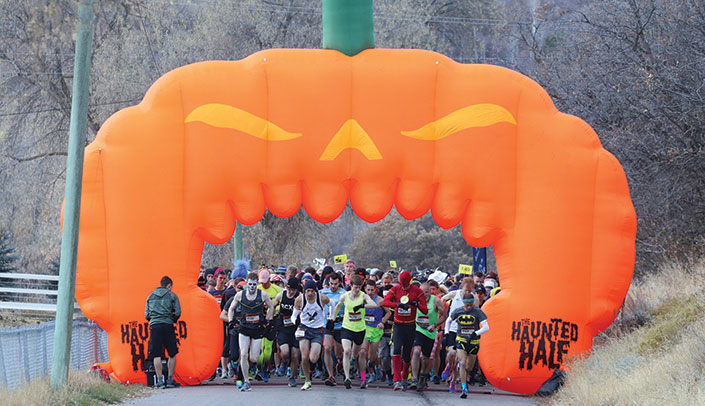 The Haunted Half Starting Line
