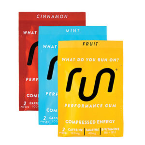 Run Gum assorted packs