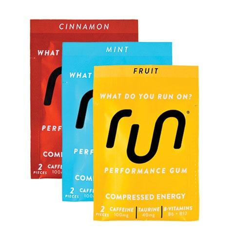 Run Gum assorted packs