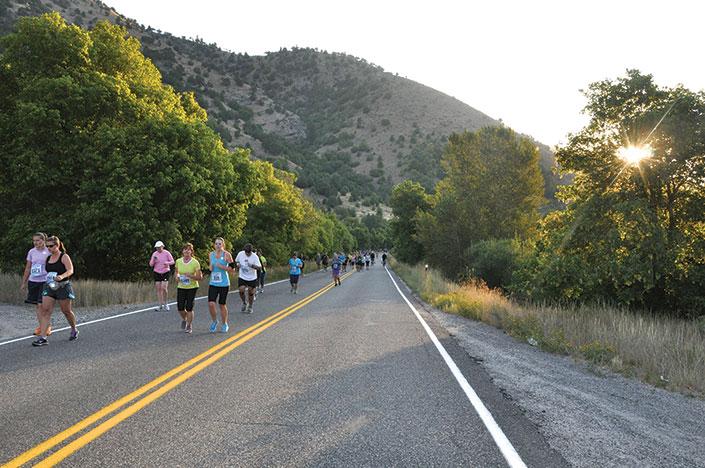 Top of Utah runners