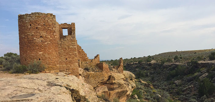 Photo of Hovenweep National Monument Cliffside Towers