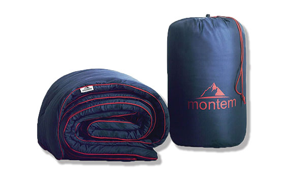 Montem Sneaky Snuggler Puffy Camping Blanket product photo