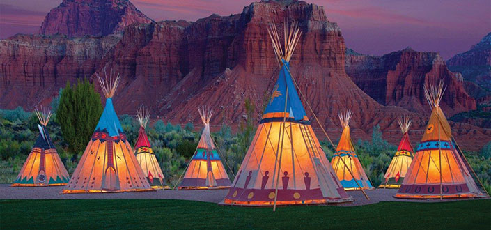 Capitol Reef Resort tipi photo