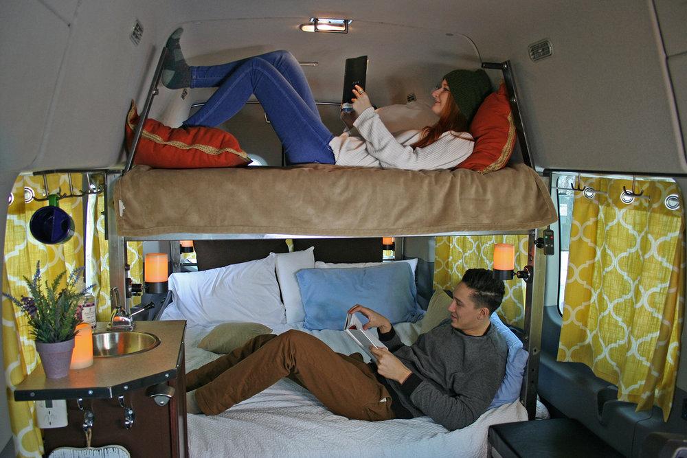 Wandervan camping