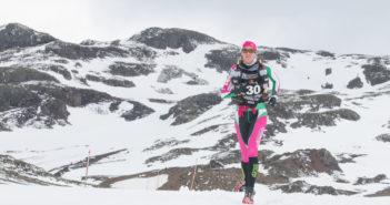 tax mariah ultra running in Antarctica
