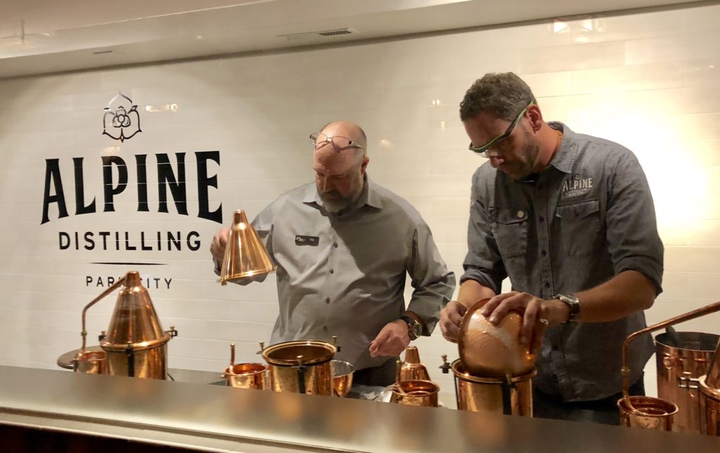 Alpine Distilling Gin Experience
