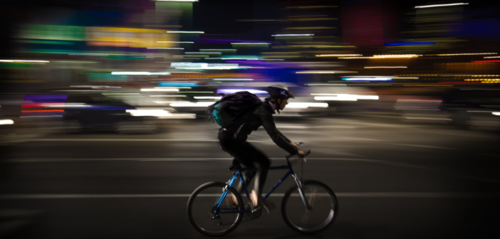 how to bike safely in the dark