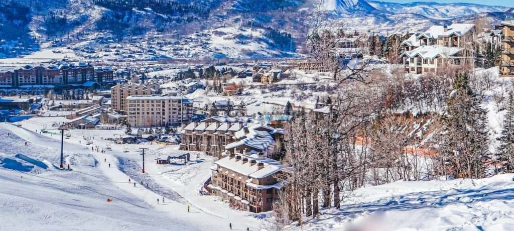 Image of the town of Steamboat Springs