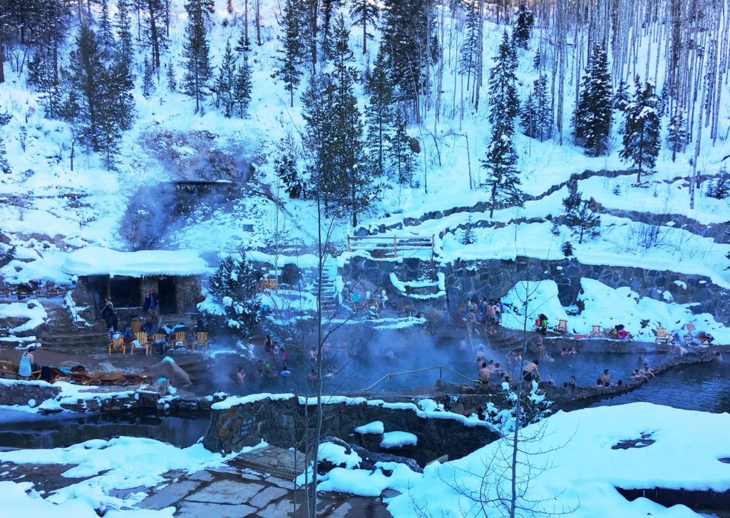 Image of Strawberry Hot Springs in Steamboat Springs Colorado