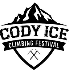 cody ice climbing festival logo