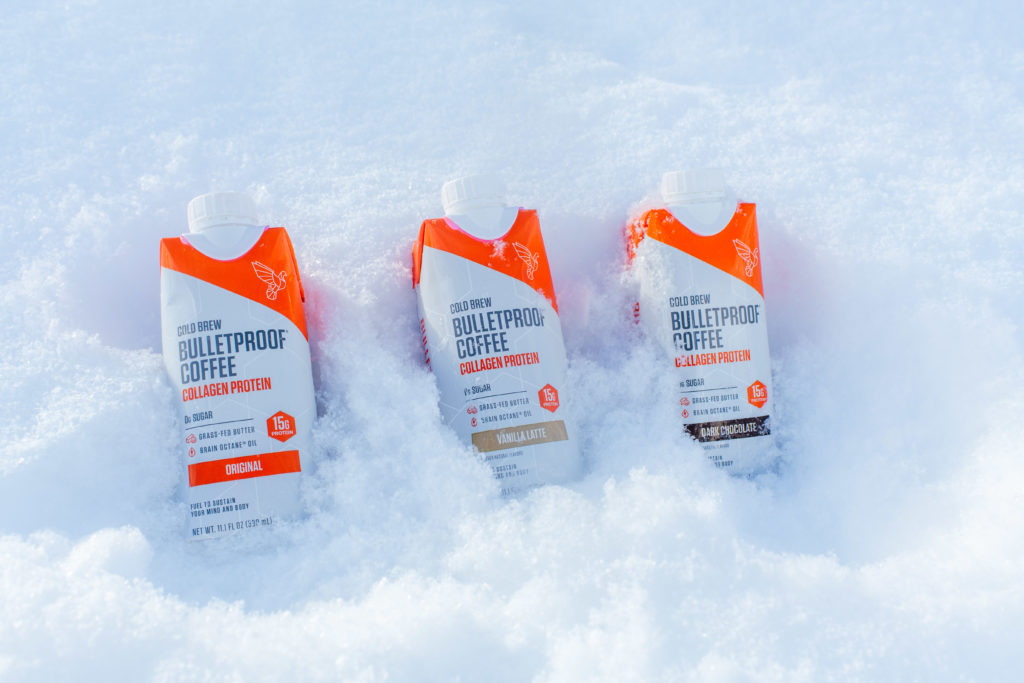 bulletproof coffee at fis freestyle world championships