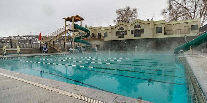 Downata Hot Springs pool