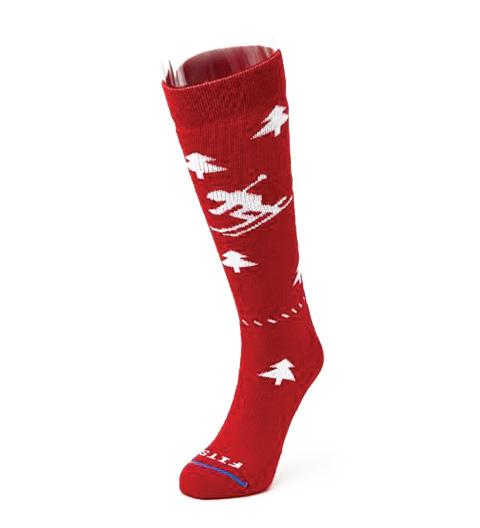 Fits Medium Downhill Ski Socks