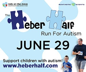 Heber Half run for Autism June 29