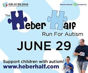 Heber Half run for Autism June 29