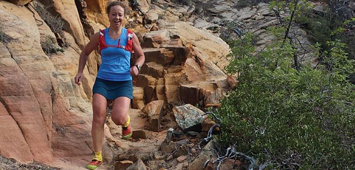 Caitlin Loertscher 50m Zion Traverse