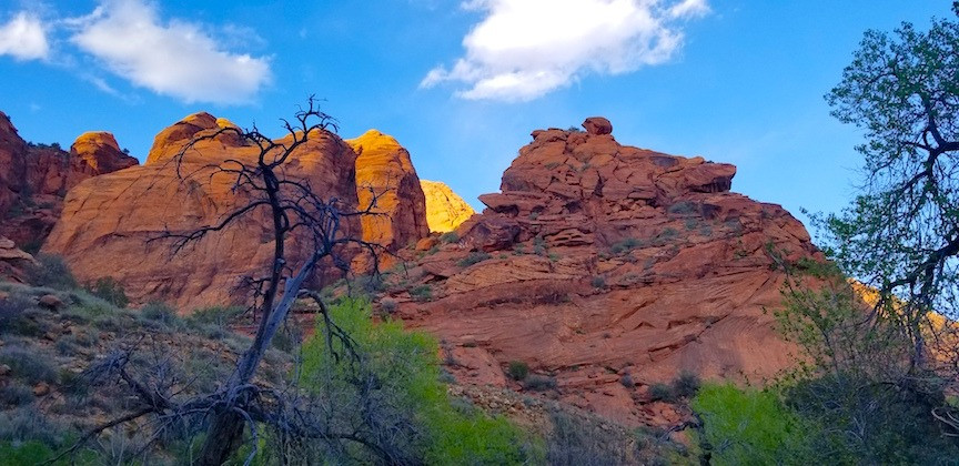 red cliffs family-friendly