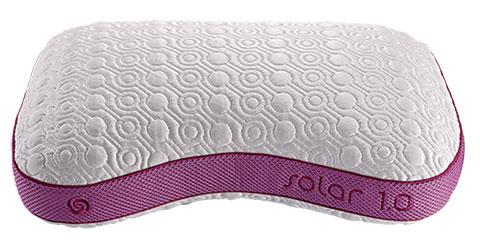 Purple Bedgear Solar1.0 pillow