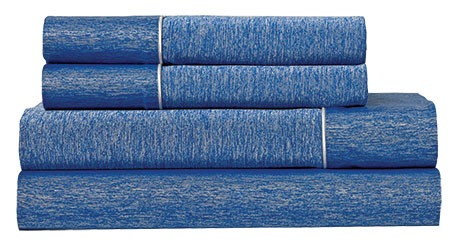 blue BEDGEAR Ver-Tex Sheet Set product photo
