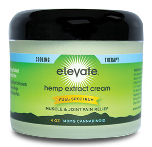 elevate hemp cbd cream