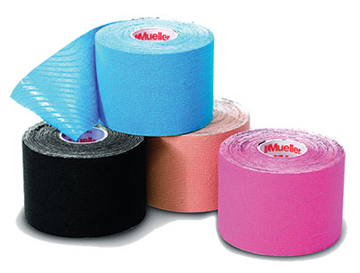 kinesiology tape variety of colors