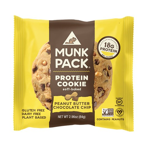 Munk Pack Protein Cookie packaging