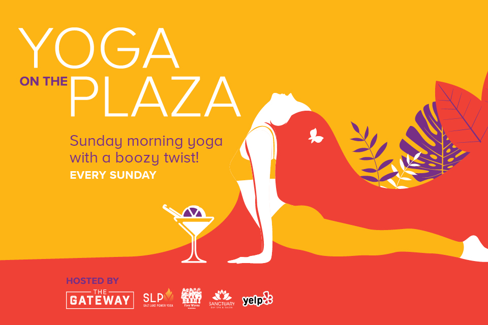yoga on the plaza gateway salt lake city