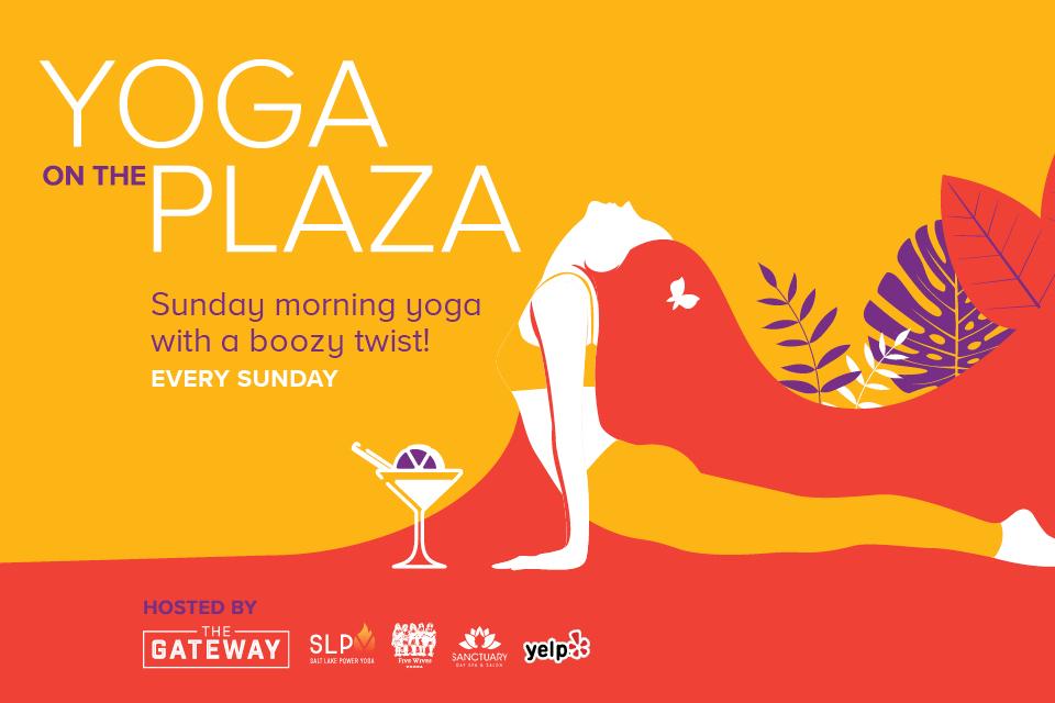 yoga on the plaza gateway salt lake city