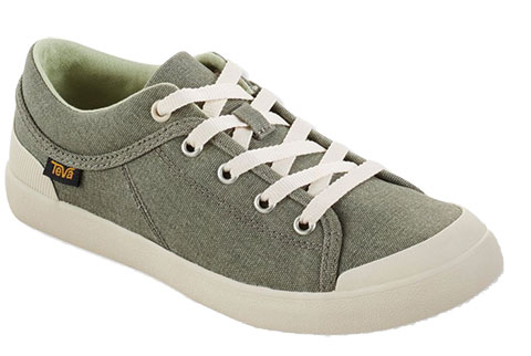 teva freewheel washed canvas sneakers product photo