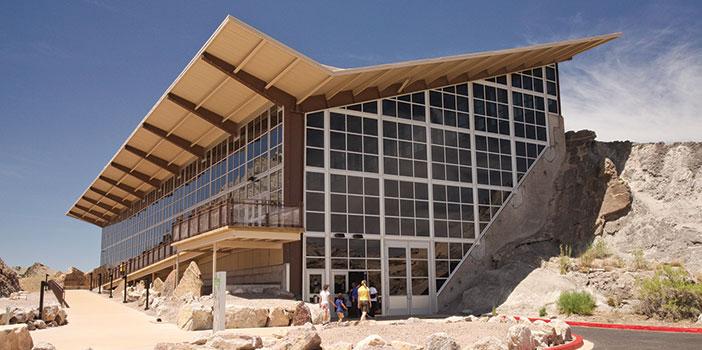 Dinosaur National Monument building