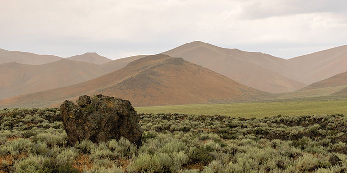 Craters of the Moon National Monument landscape photo
