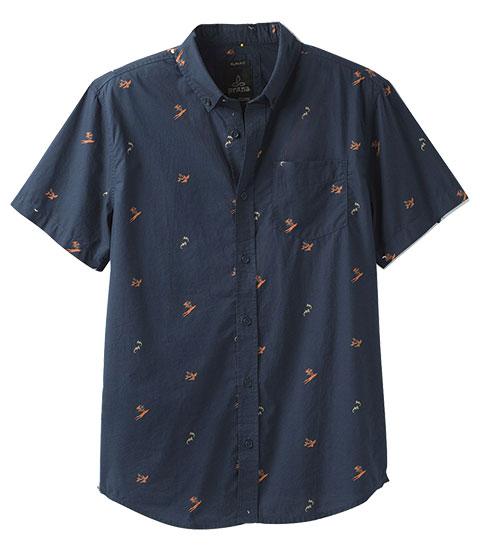 prana men's broderick shirt product photo