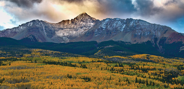 Telluride mountain range