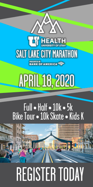 Salt Lake City Marathon, April 18, 2020