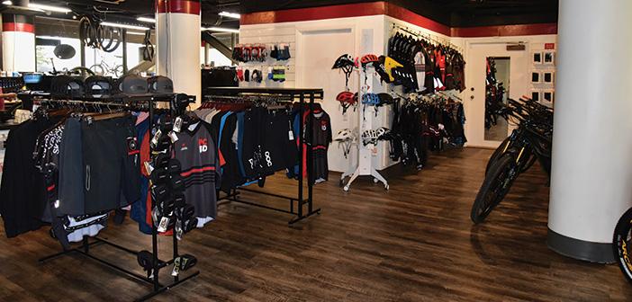 Park City Bikes store interior
