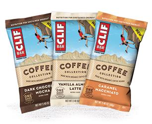 Clif Coffee Bars.