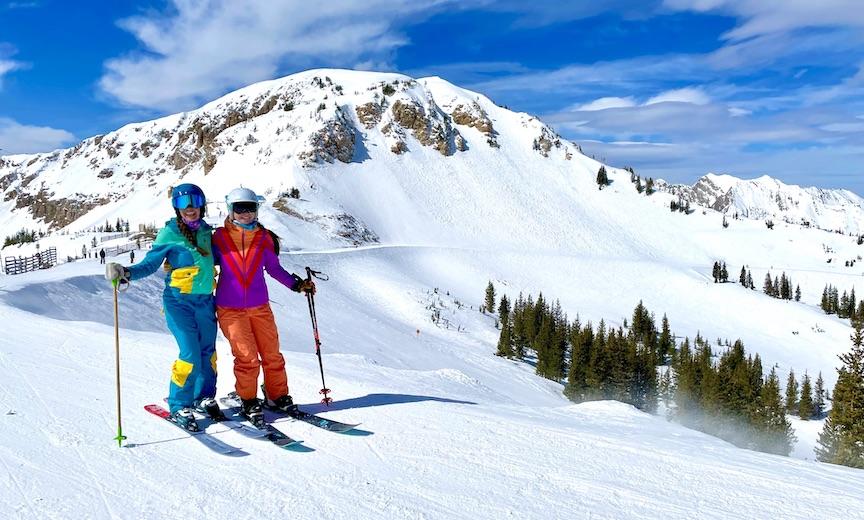Alta ski area views