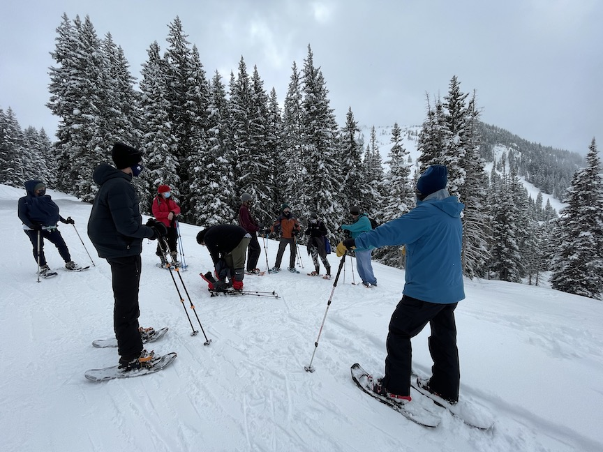 Alta Ski Area snowshoe tours
