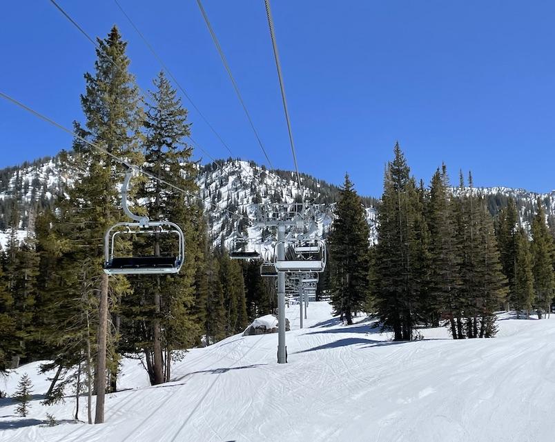 alta ski area chairlift