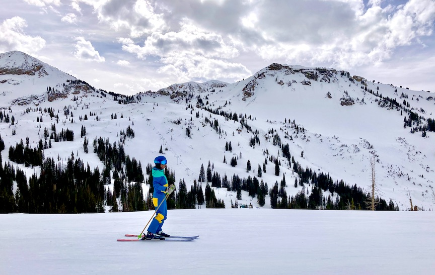 Learn (or Relearn) to Ski at Alta Ski Area